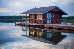 floating cabin turku